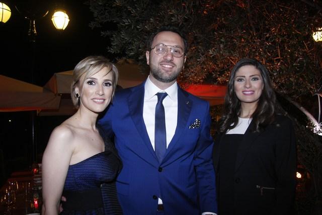 إسبرانس غانم، جيلبير رزق، نادين كفوري