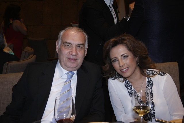 إبراهيم حلبي وعقيلته