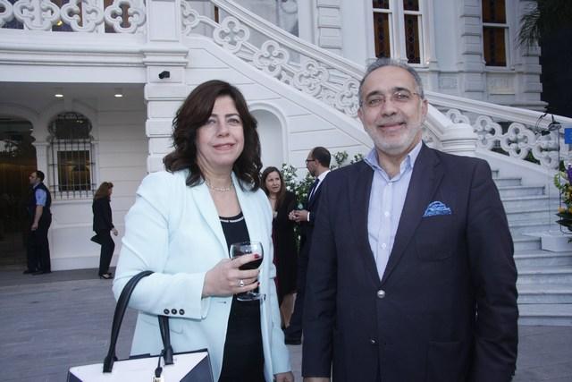 سمير نعيمة والدكتورة نور بيرفوربان