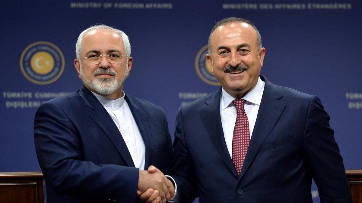 محمد جواد ظريف ومولود جاويش أوغلو: ترتيب الوضع الإيراني التركي