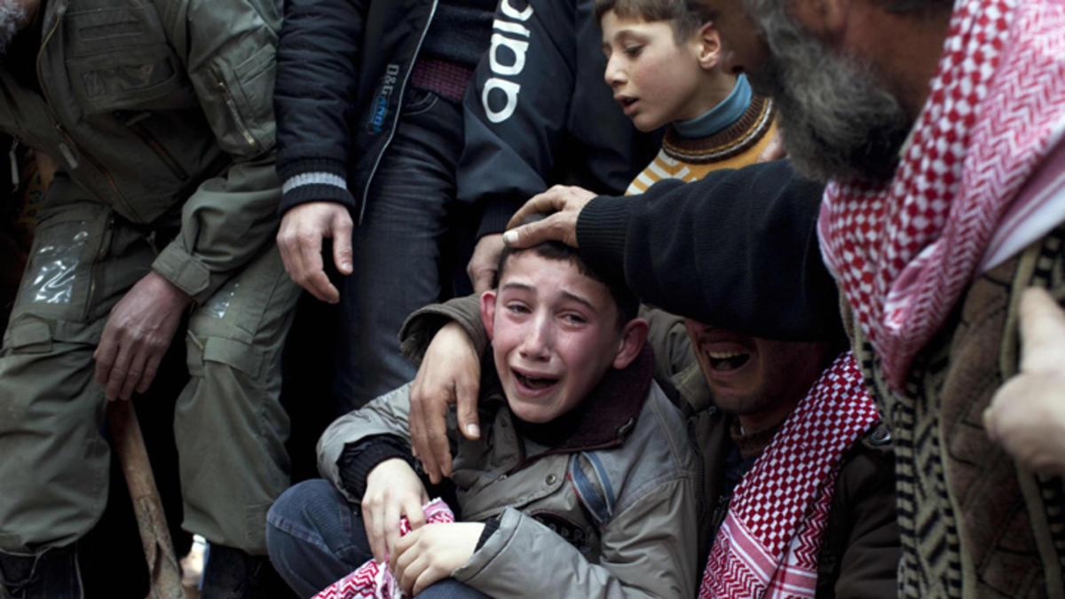 أنقذوا أطفال سوريا من آثار الحرب الصادمة