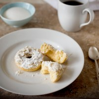5 Days of Coffee and Sweets with Irene's Beans: Crumb Cake Donuts