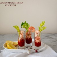 Bloody Mary Shrimp Cocktail: Celebration Food #SundaySupper