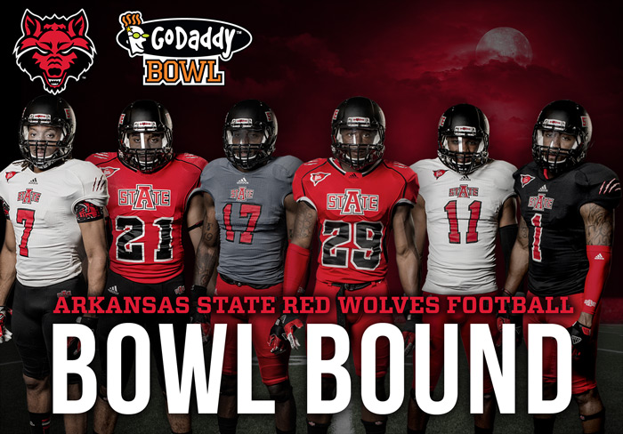 A State Accepts Godaddy Bowl Invitation