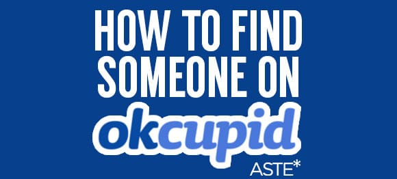 Find someone on okcupid