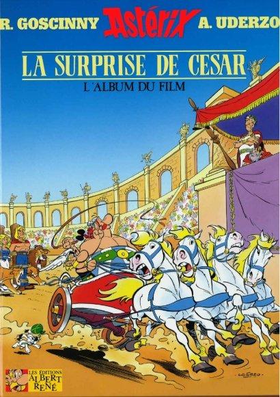 Poster do filme Asterix e a Surpresa de César