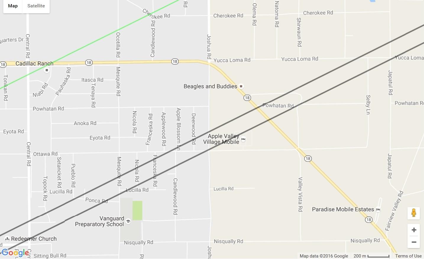 map hwy 138 ca