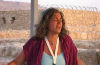 Rabbi Debra Kolodny | As the Spirit Moves Us. At Massada Sunrise Service