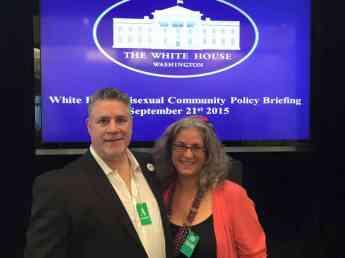 RABBI DEBRA KOLODNY - AS THE SPIRIT MOVES US - AT White House with Alexei
