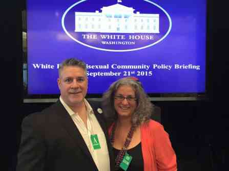 RABBI DEBRA KOLODNY - AS THE SPIRIT MOVES US - AT White House with Alexei