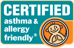 Image result for certified asthma & allergy friendly