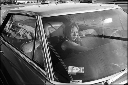 Untitled, (from People In Cars), 1970 by Mike Mandel