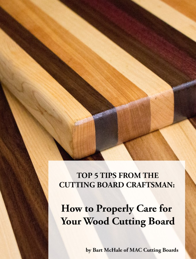 top 5 tips from the cutting board craftsman