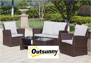 outsunny outdoor furniture reviews