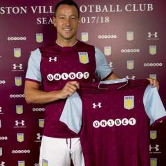 John Terry signs, Official
