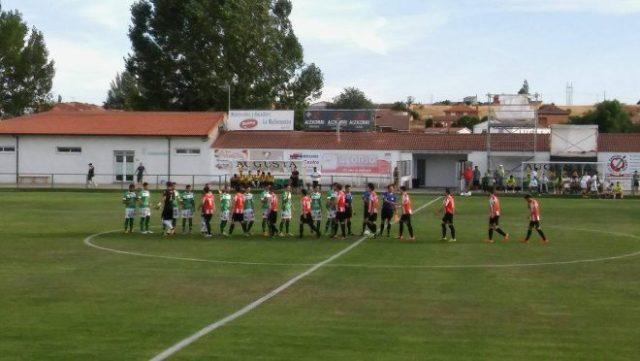 El Atlético Astorga no pudo con el Zamora. / AF.
