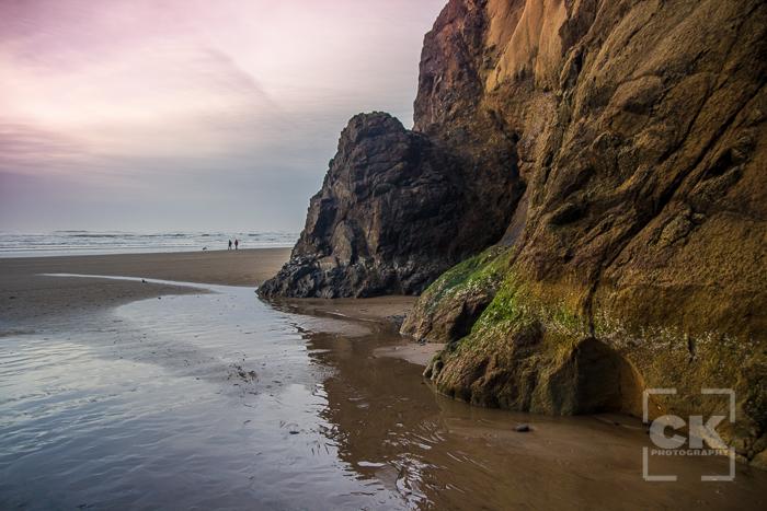 Hug Point - awesome beach portrait location