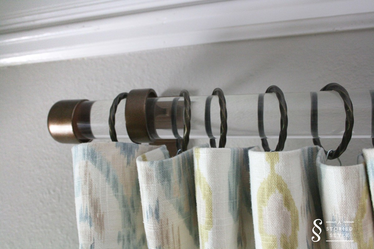 DIY Tutorial: Acrylic Drapery Rods