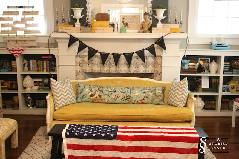 Vintage Americana Baby Shower Part 1: Decor