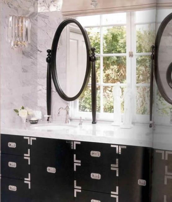 Iconic Kelly Wearstler Bathroom