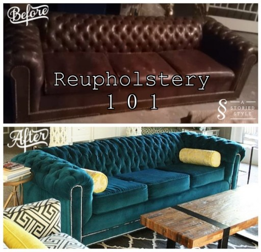 reupholstery 101