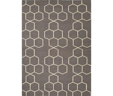 honeycomb rug via luxeyard