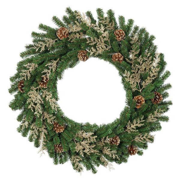 martha stewart tiffany wreath - home depot