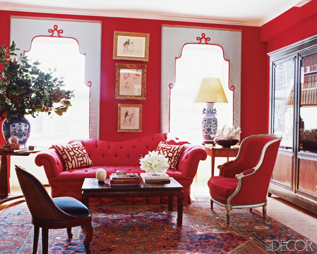 Window Treatment Ideas: Lambrequins - A Storied Style