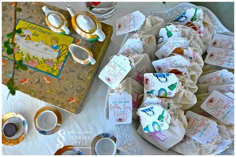Tea Party Baby Shower Favors A Storied Style
