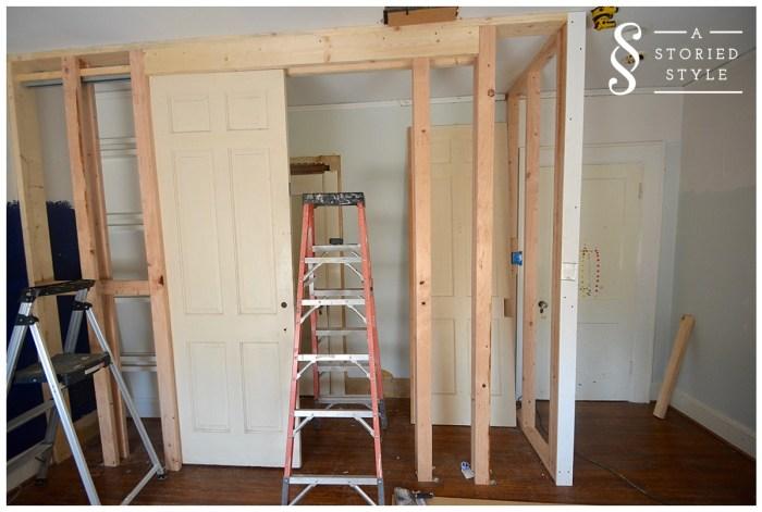closet built