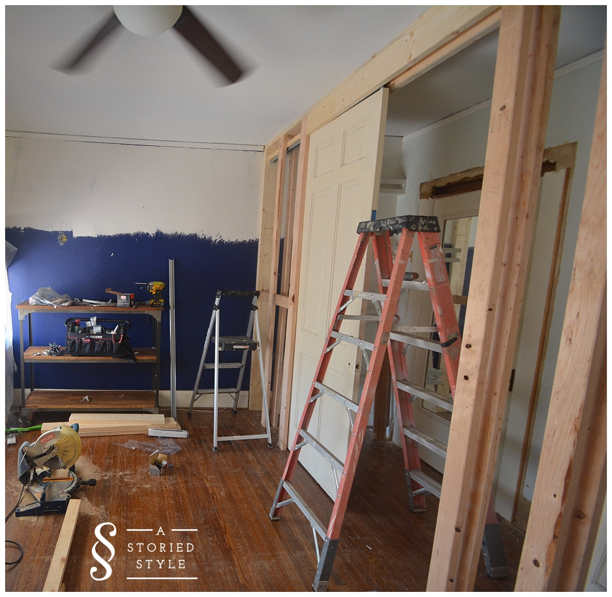 Ordinaire One Room Challenge U2013 Weeks 3 U0026 4 U2013 Adding A Closet