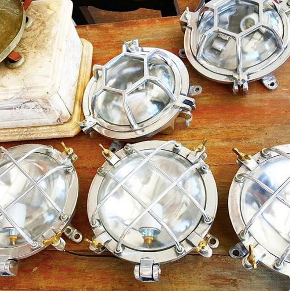 antique shiplight sconce