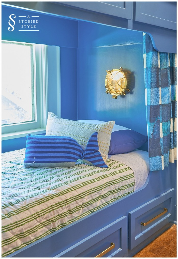 boys bunk lights