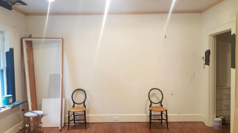 One Room Challenge Fall 2016 U2013 Week 4 U2013 Clean Walls U0026 Closet Transformation