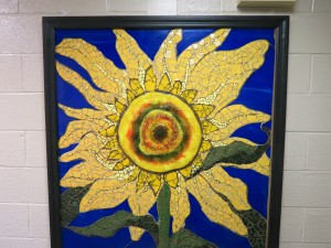 The newest addition to Astor's Residential Facility is this gorgeous sunflower.
