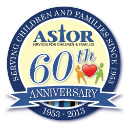 Astor 60th Anniversary logo