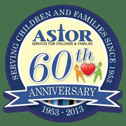 Astor 60th Anniversary logo
