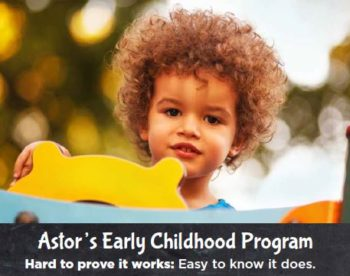 Astor's Early Childhood Program
