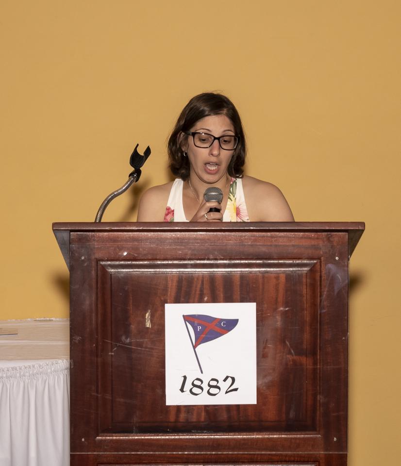 Guest speaker, Sara Valis