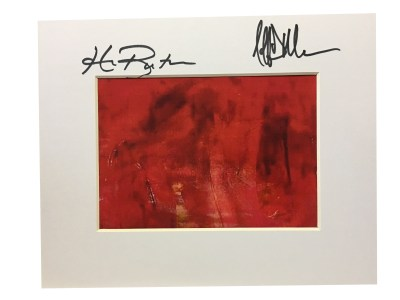Autographed All Red Print