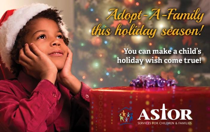 Family For Christmas.2019 Astor Adopt A Family Program Astor Services For