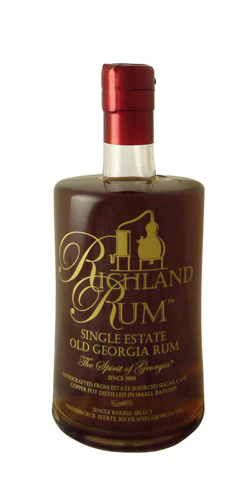Richland Single Barrel Old Georgia Rum | Astor Wines & Spirits