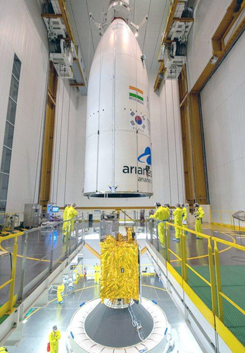 Arianespace integrates GSAT-11 and GEO-KOMPSAT-2A for next ...