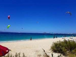 naxos kite surfing