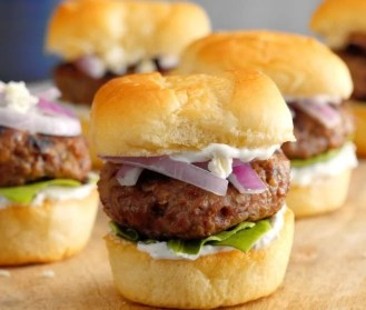 Santorini Lamb Sliders