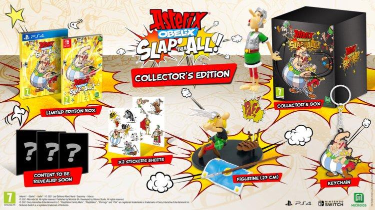Asterix & Obelix: Slap Them All! Collector's Edition Inhalte