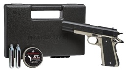 winchester model 11k co2 pistol kit with case