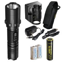nitecore r25 led tactical police flashlight image