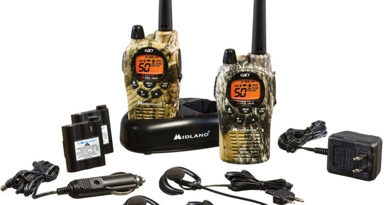 best walkie talkies for hunting