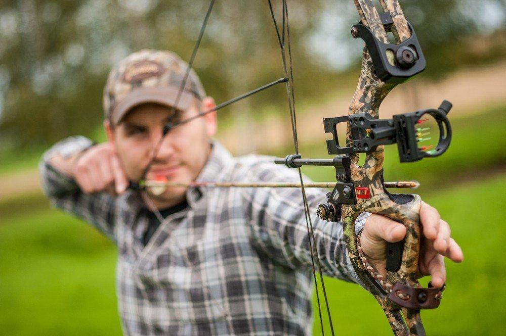 Rica youth bow broadhead arrow penetration